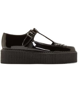 Underground | Patent Leather T-Strap Creepers