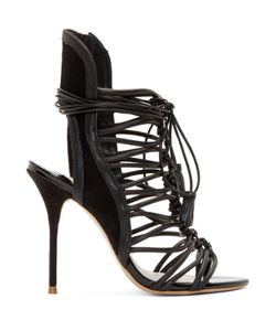 Sophia Webster | Leather Lacey Heels