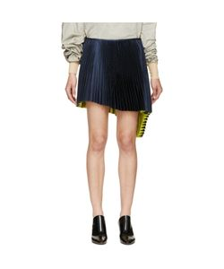 THOMAS TAIT | Pleated Asymmetrical Skirt