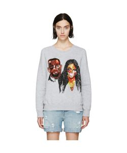 Ashish | Sequinned Kimye Sweatshirt