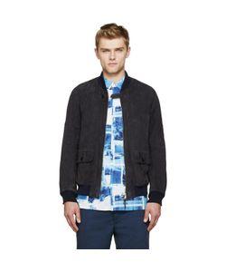 Visvim | Nubuck Varsity Jacket