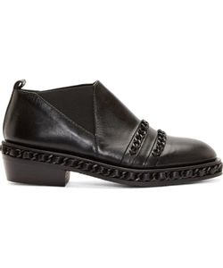 CHRISTIAN DADA | Chain Trim Western Shoes