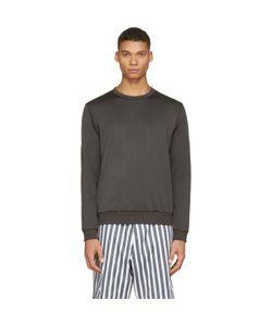 08SIRCUS   Drab Technical Jersey Sweatshirt