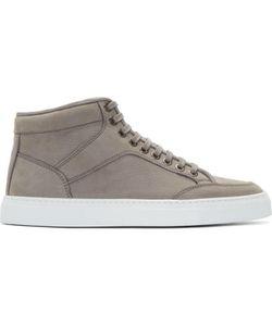ETQ AMSTERDAM | Nubuck Mid-Top Sneakers