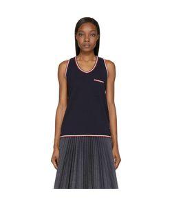 Moncler Gamme Bleu | Logo Stripe Tank Top
