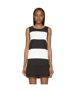 Jay Ahr | And Striped Eyelet Tank Top