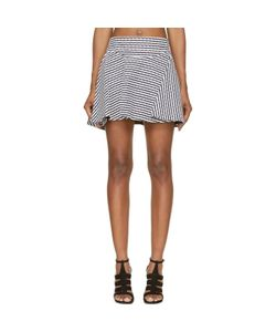 Jay Ahr | And Eyelet Flare Skirt
