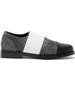 TILLMANN LAUTERBACH | Cracked Leather Dermee Slip-On Shoes