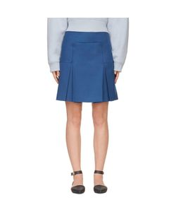Richard Nicoll | Box Pleat Mini Skirt