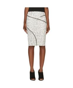 Jay Ahr | And Ziparound Leopard Pencil Skirt