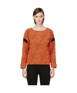 Avelon   Animal Textured Sweater