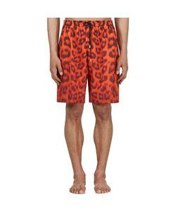 KATIE EARY | Leopard Swim Shorts