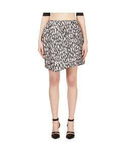 Mugler | And Leopard Jacquard Skirt