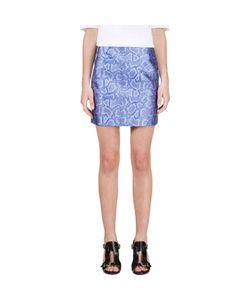 Richard Nicoll   Python Jacquard Mini Skirt