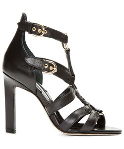 Brian Atwood | Leather Harness Adrya Heels