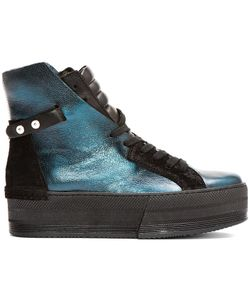 Ca By Cinzia Araia | Leather High-Rise Platform Sneakers