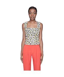 Mugler | Leopard Print Applique Tank Top