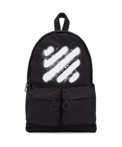 OFF-WHITE | Diagonal Spray Backpack