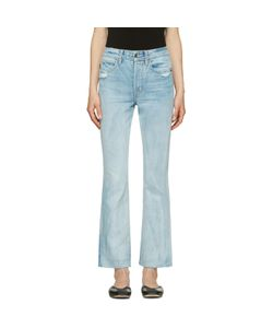Helmut Lang | High-Rise Crop Jeans