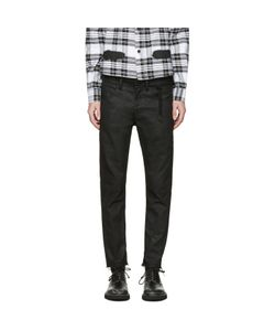 OFF-WHITE | Sprayed Diagonals Cropped Jeans