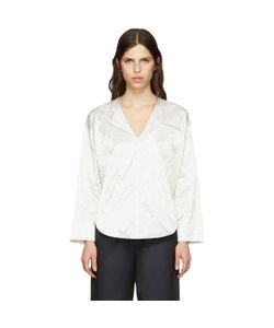 NOMIA | Deep V-Neck Blouse