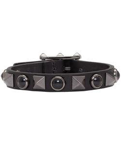 Valentino   Stone And Rockstud Bracelet