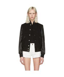 Saint Laurent   Teddy America Bomber Jacket