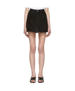 RE-DONE | Denim High-Rise Miniskirt