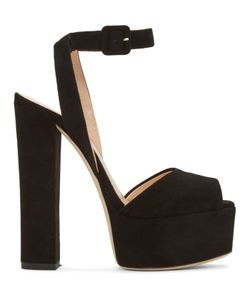 Giuseppe Zanotti Design | Giuseppe Zanotti Suede Lavinia Platform Sandals