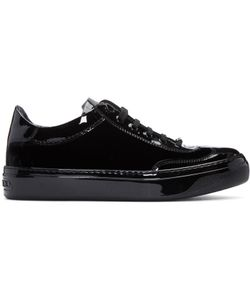 Jimmy Choo | Velvet And Leather Ace Sneakers
