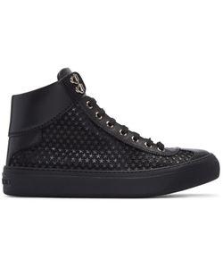 Jimmy Choo | Mini Stars Argyle High-Top Sneakers