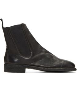 GUIDI | Leather Chelsea Boots