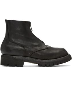 GUIDI | Leather Zip Boots