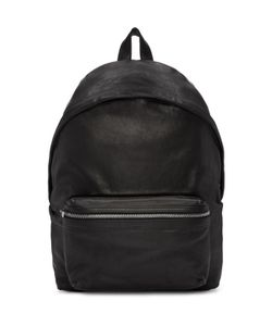 Saint Laurent | Washed Leather City Backpack