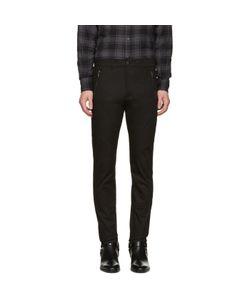 Diesel Black Gold   Skinny Zip Trousers