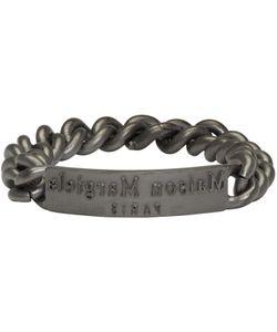 Maison Margiela   Logo Id Bracelet