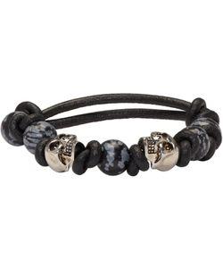 Alexander McQueen | Stone And Skull Bracelet