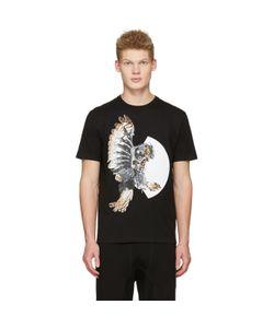 Neil Barrett | Mechanical Owl T-Shirt