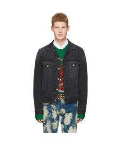 Gucci | Denim Laveugle Par Amour Jacket