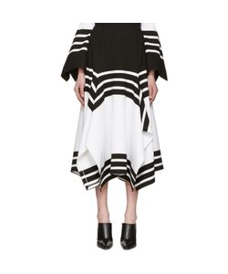ROSETTA GETTY   And Scarf Hem Skirt