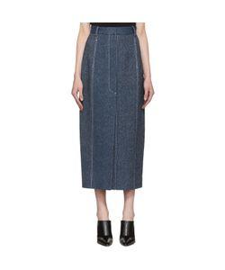 ROSETTA GETTY   High-Rise Straight Skirt