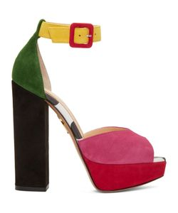 Charlotte Olympia | Suede Eugenie Platform Sandals