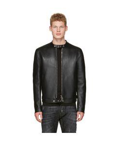 Dsquared2 | Bonded Leather Biker Jacket