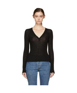 T By Alexander Wang | Deep V-Neck Sweater