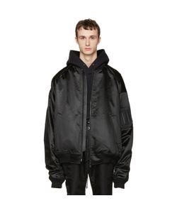 JUUN.J | Oversized Bomber Jacket