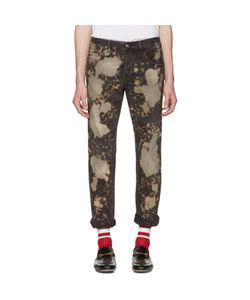 Gucci | Bleached Tape Jeans