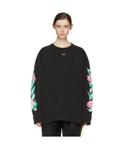 OFF-WHITE   Diagonal Tulips Pullover