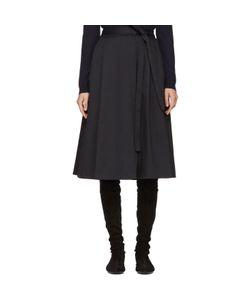 Jil Sander Navy | Wrap Skirt