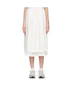 Tricot Comme des Garçons   Eyelet Lace Skirt