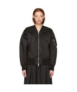 Yang Li | Zipped Bomber Jacket